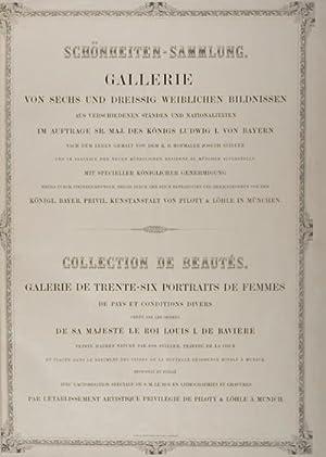 Schönheiten-Sammlung: Gallerie von sechs und dreissig weiblichen Bildnissen; Collection de ...