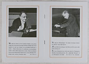 Lot of 23 Berlin Philharmonic, Opera Programs and Other Memorabilia Pertaining to German Conductor ...