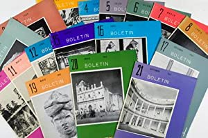 Boletin INAH 17 Volumes: Instituto Nacional De Antropologia E Historia