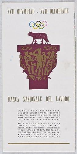 XVII Olympiad. Banca Nazionale Del Lavoro (XVII Giochi Olimpici Roma 1960): n/a