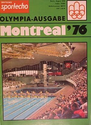 Olympia-Ausgabe Montreal '76: Deutsches Sportecho