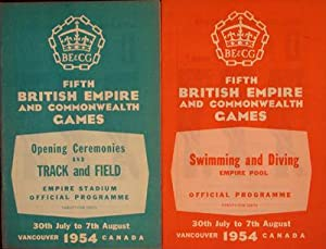 Fifth British Empire and Commonwealth Games, Official Programme (2 pamphlets): n/a