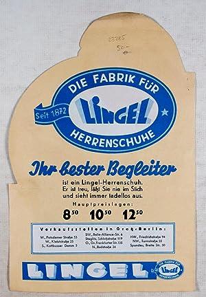 1930's Advertisement Brochure for Lingel Herrenschuhe: n/a