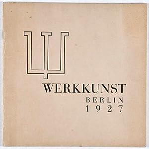 Werkkunst Berlin 1927: n/a