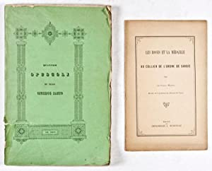 Quattro Opuscoli: Manno, Giuseppe (Barone)