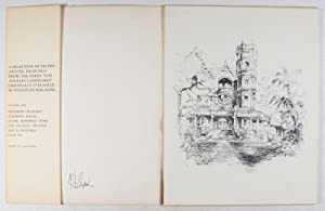 """A Selection of Six Pen and Ink Drawings from the Series """"Los Angeles Landmarks"""" ..."""