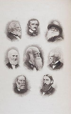 An American Anthology 1787-1900. 2-volume set (complete): Stedman, Edmund Clarence