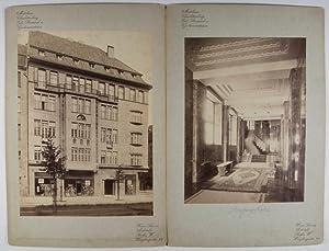 Mietshaus Charlottenburg. 6 Albumen Photographs: Lassen, Heinrich (Heinz)