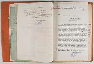 Niedenzu vs. Sander. Correspondence: n/a