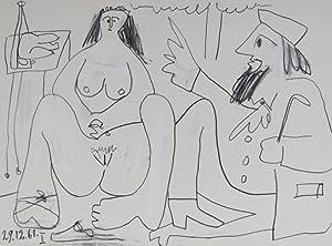 Les Déjeuners: Picasso, Pablo; Douglas Cooper (text)