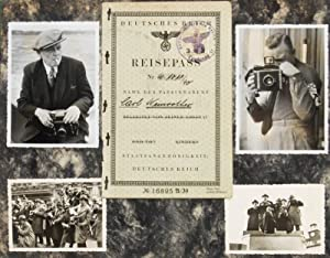 Unique collection of 3 vintage albums from German sport photographer and war correspondent Carl ...