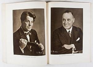 Für die Gesellschaft: Atelier Binder. 2 Complete issues from 1928: Propaganda Mackenthun (Hrs....