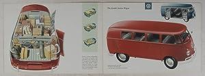 Die VW-Transporter / Ein VW-Achtsitzer zum Selbstbasteln / Getting Ahead with Volkswagen ...