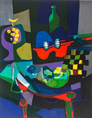 Marcel Mouly with Commemorative Suite of Four Color Lithographs [SIGNED]: Mouly, Marcel