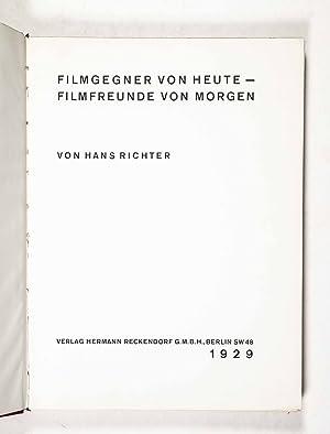 Filmgegner von Heute - Filmfreunde von Morgen: Richter, Hans