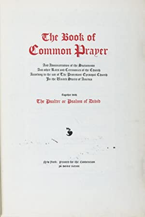 The Book of Common Prayer and Administration: The 1892 General