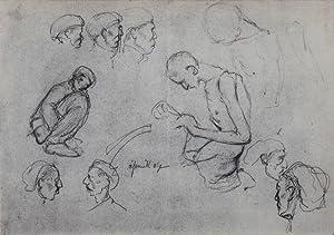 Auschwitz, Buchenwald, Bergen, Dora: Croquis Clandestins: Delarbre, Léon (Illustrations by)