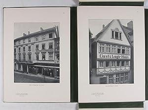 Zopf und Empire in Mittel- und Norddeutschland. 2 Vol.-set (Complete): Zetzsche, Carl