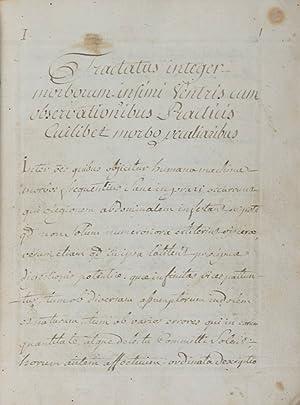 Tractatus integer morborum infimi ventris cum observationibus practicis cuilibet morbo peculiaribus...