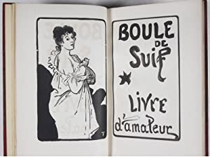 Boule de Suif [UNIQUE COPY FROM THE PERSONAL LIBRARY OF FRENCH PUBLISHER PAUL OLLENDORFF - WITH ...