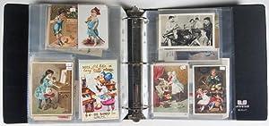 182 Postcards Depicting Musical Instruments, Performances & Music Halls: n/a
