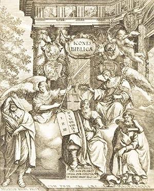 Icones Biblicae Veteris et Novi Testamenti. Figuren: Küsel, Melchior (Engravor)