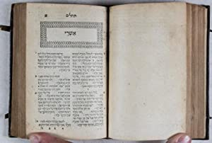 Bible (Old Testament in Hebrew bound with the Greek New Testament [He kaine diatheke]): Menasseh ...