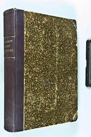 Festschrift Adolf Schwarz zum siebzigsten Geburtstage 15. Juli 1916 gewidmet von Freunden und Sch&...