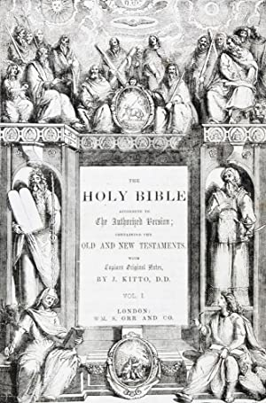 The Holy Bible According to The Authorized Version; Containing The Old and New Testaments. 2-vol....
