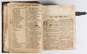 Biblia, Das ist: Die Heilige Schrift Altes und Neues Testaments, Nach der Deutschen Uebersetzung D....