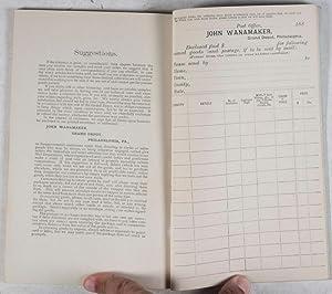 Catalogue of Trimmings, Fancy Goods, and Sundries [Catalogue No. 4]: John Wanamaker