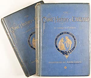 The Comic History of England. Illustrated by John Leech. 2-volume set (complete): A' Beckett, ...