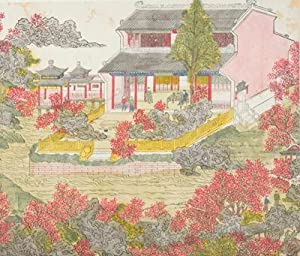 Chinese Hand-Colored Woodcuts