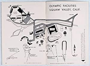 VIII Olympic Winter Games, Squaw Valley, California, USA. Feb. 18-28, 1960: Official Daily Program:...