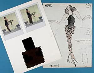 Unique Diane von Furstenberg 1984 Spring/Summer & 1985 Fall Couture collection with ...