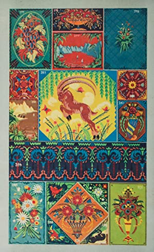Praktisches Vorlagenwerk für Dekorationsmaler (30 Tafeln in 9 farbigem Offsetdruck): Seifried ...