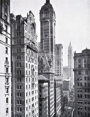 Die amerikanischen Turmbauten, die Gründe ihrer Entstehung, ihre Finanzierung, Konstruktion ...