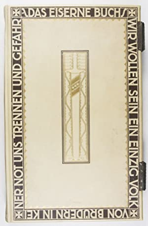Decorative Full Vellum Binding designed by Johann Vinenz Cissarz (issued for the purpose of ...