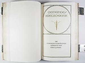 Decorative Full Vellum Binding designed by Johann Vinenz Cissarz (issued for the purpose of ...