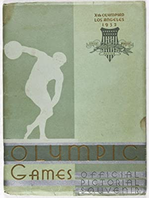 """Xth Olympiad Los Angeles 1932 """"Olympic Games - Official Pictorial Souvenir"""": n/a"""