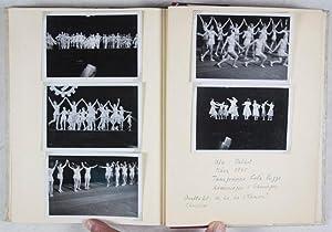 "Unique Third Reich Photo Album with 45 Original B/W Photographs of the Tanzsportgruppe ""..."