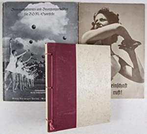 "Unique Third Reich Photo Album with 45 Original B/W Photographs of the Tanzsportgruppe ""Rogge&..."