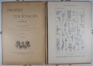 Profils et Tournages, 2ème Série: Recueil de Documents de Styles Gothique, François Ier, Henri II, ...