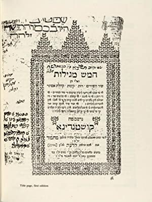 The Ladino Five Scrolls [Abraham Asa's Versions of the Hebrew and Aramaic Texts]: Lazar, Moshe...