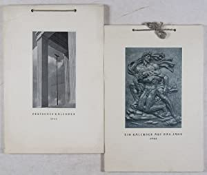 Two WWII-Era German Calendars from the Terramare Office: Deutscher Kalender 1941; Ein Kalender auf ...