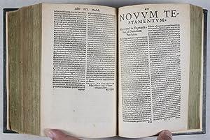 Biblia sacrosancta : ad Hebraicam veritatem & probatissimorum ac manuscriptorum exemplarium ...