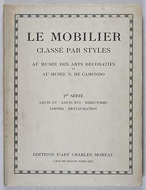 Le Mobilier Classé par Styles au Musée des Arts Décoratifs et au Musée ...