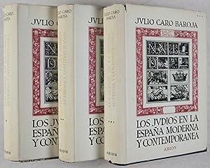Los Judios en la España moderna y contemporanea (The Jews in modern and contemporary Spain)....