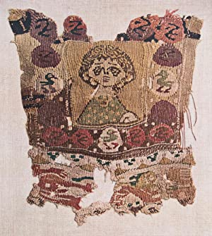 Coptic textiles from burying grounds in Egypt [from the] Kanegafuchi Spinning Company Collection. 3...