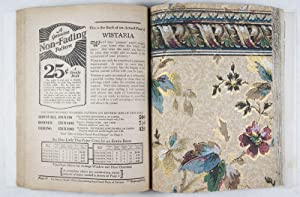 Non-Fading Wall Papers for 1929 [WITH 90 VINTAGE WALLPAPER SAMPLES]: Montgomery Ward & Co
